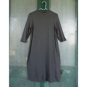 Eileen Fisher Mock Neck Dress